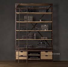 Steel Frame Bookcase Frames Deals Picture More Detailed Picture About Loft Style