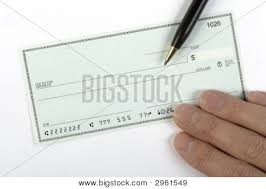 blank check pen hand image u0026 photo bigstock