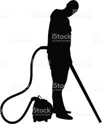 vacuuming man stock vector art 165967317 istock