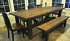 Rustic Bench Seat Bench Awful Astonishing Rustic Dining Table Bench Plans