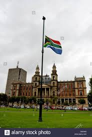Flying The Flag At Half Staff Pretoria South Africa 6th December 2013 The South African Flag