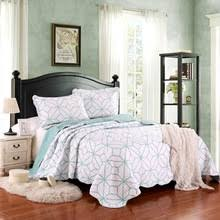 Coverlets For King Size Bed Popular White Quilted Bedspread Buy Cheap White Quilted Bedspread