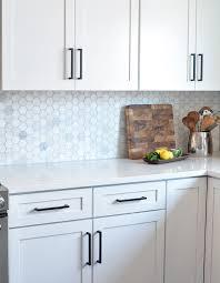 black pulls for white kitchen cabinets kassie david s kitchen remodel centsational style