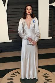 Vanity Fair Nightwear Caitriona Balfe At 2017 Vanity Fair Oscar Party In Beverly Hills