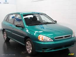 kia hatchback 2002 emerald green kia rio cinco hatchback 13830322 photo 14