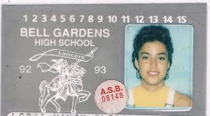 cbell high school yearbook the adventures of bond girl bell gardens high school