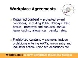workchoices for everyone a new era of workplace relations a new