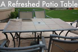patio table with removable tiles refreshed patio table denise designed