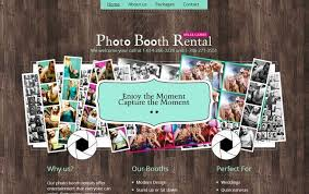 photo booth rental miami rent photo booth miami entertainment website design by aws