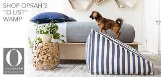 Washable Dog Beds Dog Beds U0026 Floor Pillows Fresh Pet Annie Selke