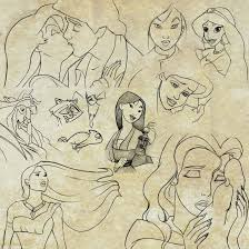 disney sketches by nataliebeth on deviantart
