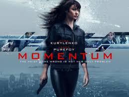 click to view extra large poster image for momentum movie