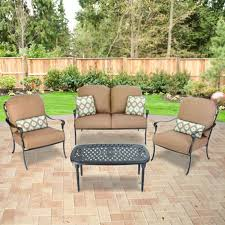 Replacement Cushions Patio Furniture by Replacement Cushions For Patio Sets Sold At The Home Depot