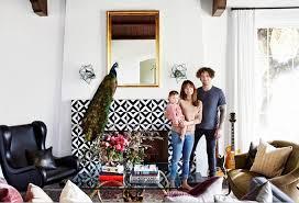 rockers eclectic california home design