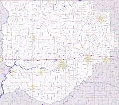 Road Map Of Louisiana by Landmarkhunter Com Acadia Parish Louisiana