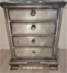 gorgeous shabby chic furniture refurb using krylon looking glass