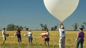 why nasa is sending bacteria into the sky on balloons during the