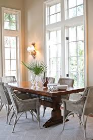 looking trestle table in dining room beach style with benjamin