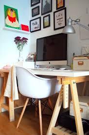 bureau traiteau mon nouveau bureau sur des tréteaux the dreamcatcheuse