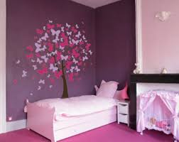 bedroom with wall tree sticker different types of bedroom