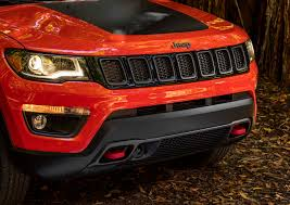 jeep front grill 2017 jeep compass trailhawk first drive compass finally finds
