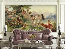 china hot sale european non woven mural painting god of gods china hot sale european non woven mural painting god of gods applicable sofa background decoration court hotel actress wallpaper actress wallpapers from