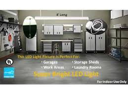 48 watt bright led shop light fixture superior lighting