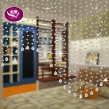 Diy Beaded Door Curtains 20meters Set Customized Size Crystal Glass Beads Strands Door