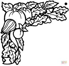 vegetables harvested september coloring free printable