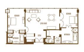 2 Bedroom Penthouse Suite Mirage Rooms U0026 Suites