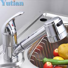 Pull Out Faucets Kitchen Faucets by Pull Out Faucet Copper E Single Hole Kitchen Faucet Sink Tap