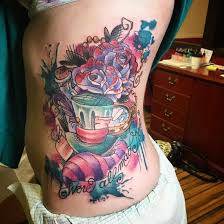 29 amazing tattoos that will give any u0027alice in wonderland u0027 fan