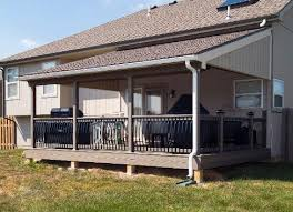 Veranda Decking Designs Covered Patios Patio Design And Patio by Covered Deck And Patio Pictures Built By All Weather Decks
