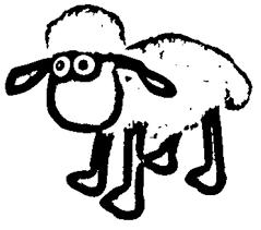 shaun sheep coloring pages