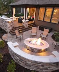 Fire Pit Ideas For Small Backyard 18 Fire Pit Ideas For Your Backyard Fireplace Pinterest