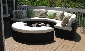 impressive round outdoor sectional sofa round outdoor wicker