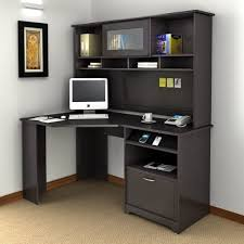 Black Corner Computer Desk With Hutch Black Corner Desk With Shelves New Furniture