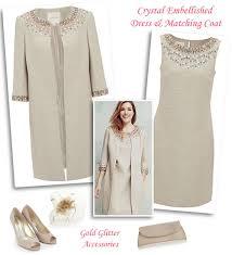 beaded shift dress and matching swing coat mantoo