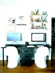 2 desk home office two person desk home office zoeclark co