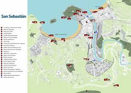 Plaza Las Americas Map by Large San Sebastian Maps For Free Download And Print High