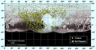 Jhu Campus Map Map Of Pluto U0027s Craters Reveals Dwarf Planet U0027s Turbulent Past