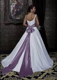 wedding dresses with sash ribbon pastel purple wedding dress naf dresses