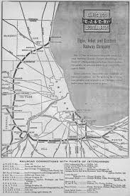 Map Of Joliet Il The Elgin Joliet And Eastern Railway