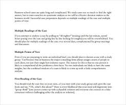 business case analysis template template design