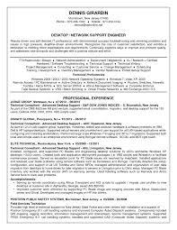 desktop support resume desktop support resume format it resume cover letter sle