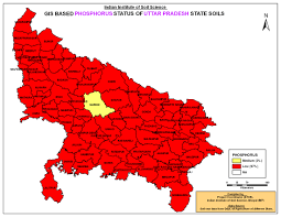 Up Map Districtwise Fertility Index