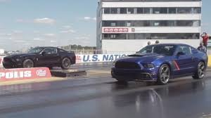roush mustang 2013 shelby gt500 and roush stage 3 go to at the drag