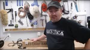 9 Led Light Bar by Project 9 Led Light Bar Install On Tractor Youtube