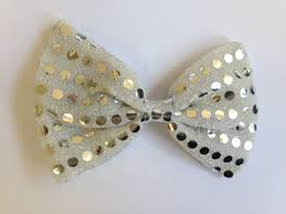 halloween bow ties light up flashing 4 led silver sequin fancy dress halloween bow
