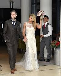 Vintage Style Wedding Dress Beautiful Italian Vintage Style Satin U0026 Embellished Dress Sell